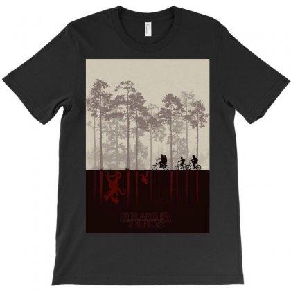 Stranger Things T-shirt Designed By Manisah