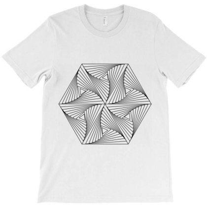 Geomatric Line Pattern T-shirt Designed By Aa-kudus