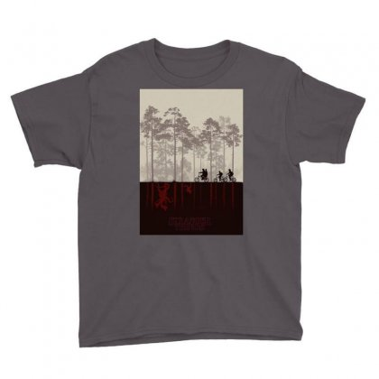 Stranger Things Youth Tee Designed By Manisah