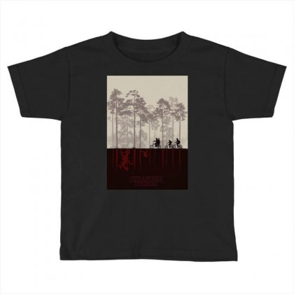 Stranger Things Toddler T-shirt Designed By Manisah