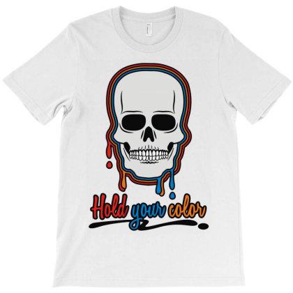 Color Skull T-shirt Designed By Rs Shop