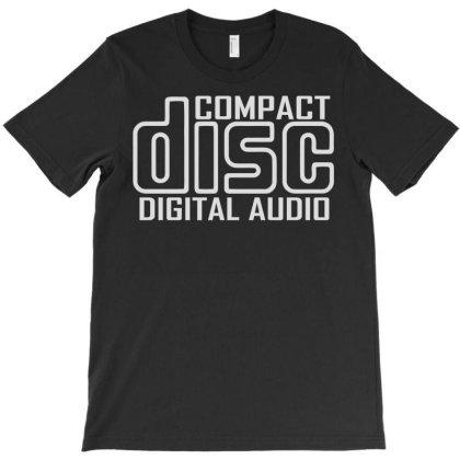 Compact Disc Digital Audio T-shirt Designed By Rs Shop