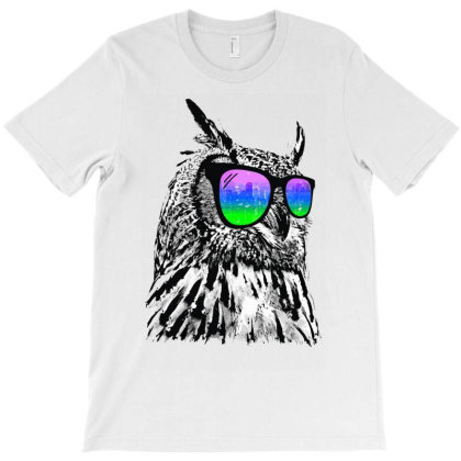 Cool Owl T-shirt Designed By Rs Shop