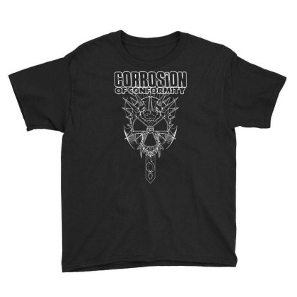 Corrosion Of Conformity (new Album Logo) Youth Tee Designed By Rs Shop