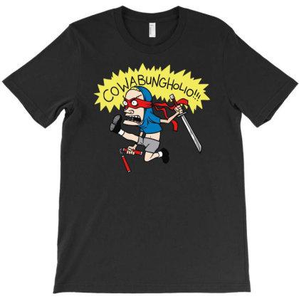 Cowabungholio T-shirt Designed By Rs Shop