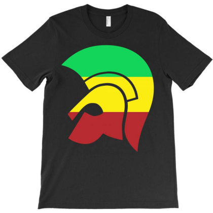 Trojan Reggae Ska Rocksteady T-shirt Designed By Marisakdejesus