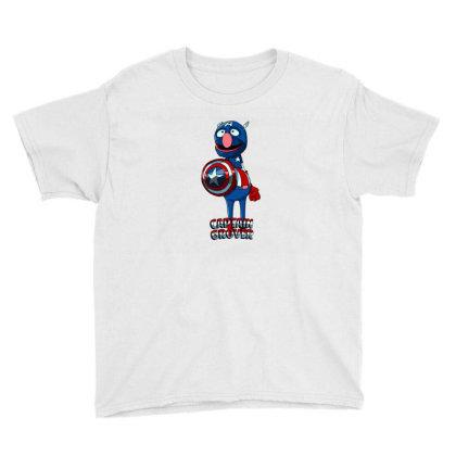 Captain Grover Youth Tee Designed By Shannontzhu