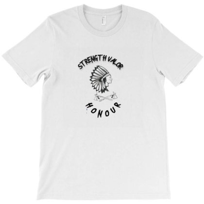Native American Warrior T-shirt Designed By Artefact33