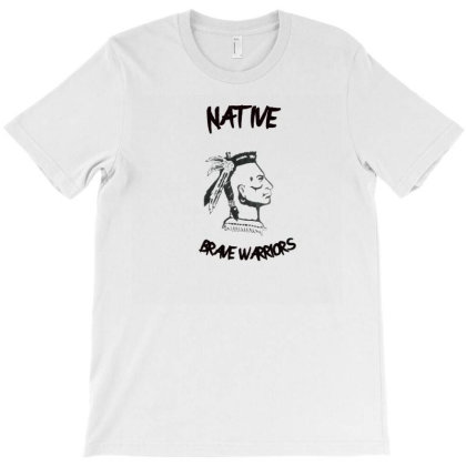 Brave Native Indians T-shirt Designed By Artefact33
