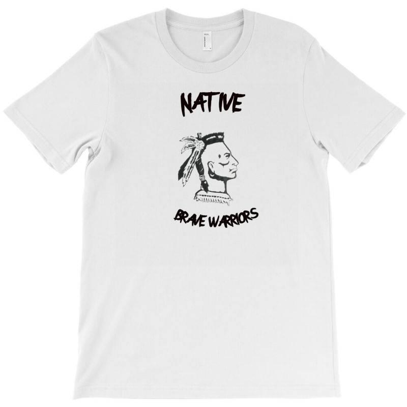 Brave Native Indians T-shirt   Artistshot
