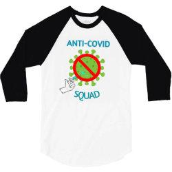 covid-corona vaccination 3/4 Sleeve Shirt   Artistshot