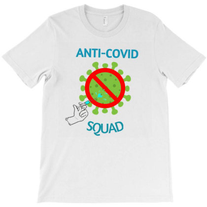 Covid-corona Vaccination T-shirt Designed By Artefact33