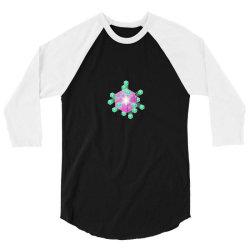 perfect cube clones 3/4 Sleeve Shirt   Artistshot