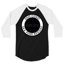 Bumpin Uglies East Coast Ska Punk Reggae 3/4 Sleeve Shirt   Artistshot