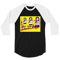 Shonnen Knife Osaka Punkrock 3/4 Sleeve Shirt | Artistshot