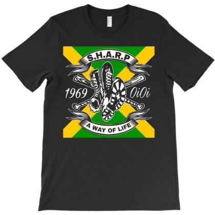 Skinhead A Way Of Life T-shirt Designed By St12sucks