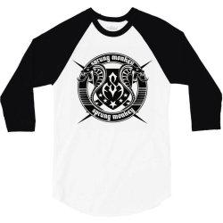 Sprung Monkey Dead Is Dead 3/4 Sleeve Shirt   Artistshot