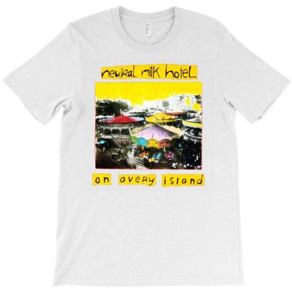 Neutral Milk Hotel On Avery Island T-shirt Designed By St12sucks