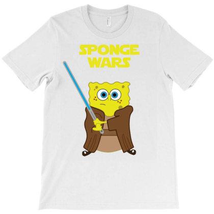 Sponge Wars T-shirt Designed By Lerosedeals