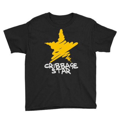 Cribbage Star Youth Tee Designed By Toldo
