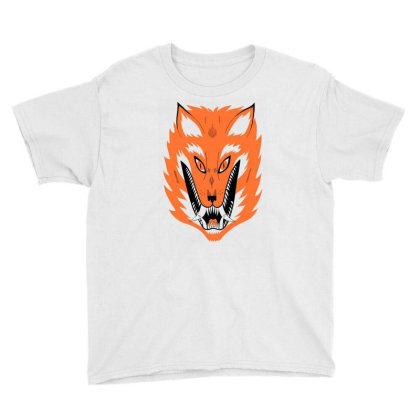 Cursed Fox Youth Tee Designed By Toldo