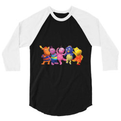 the Backyardigans Characters 3/4 Sleeve Shirt | Artistshot