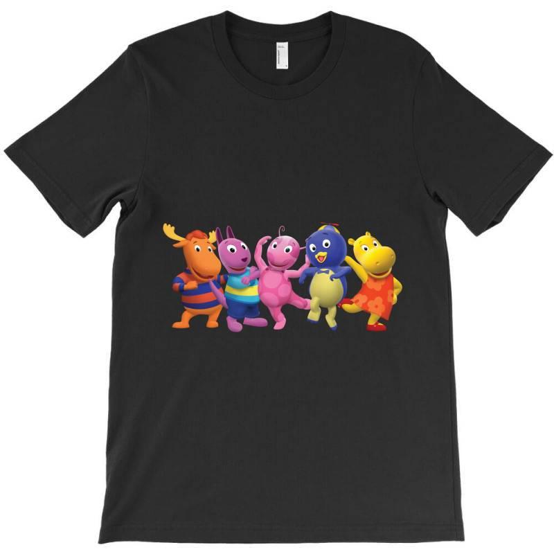 The Backyardigans Characters T-shirt | Artistshot