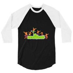 Tyrone The Backyardigans Character 3/4 Sleeve Shirt | Artistshot