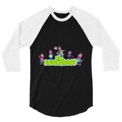 Austin The Backyardigans Character 3/4 Sleeve Shirt | Artistshot