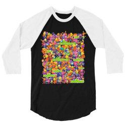 Backyardigans full characters 3/4 Sleeve Shirt   Artistshot