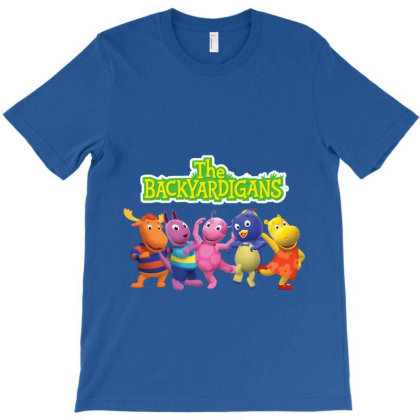 The Backyardigans Characters T-shirt Designed By Hello Asa