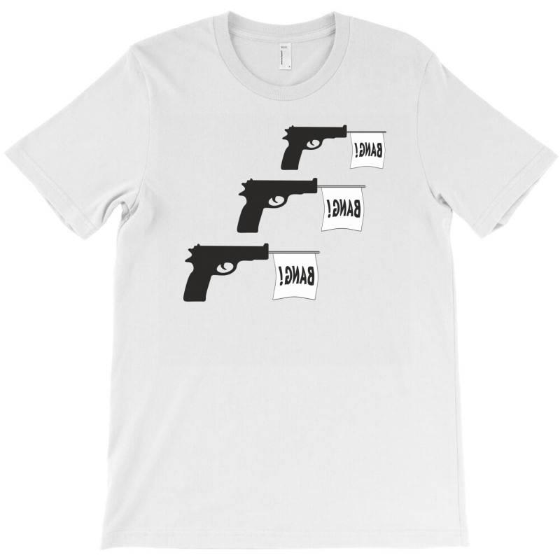 Three Gun Bangs T-shirt | Artistshot