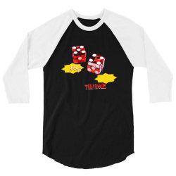 dice poker deal 3/4 Sleeve Shirt   Artistshot