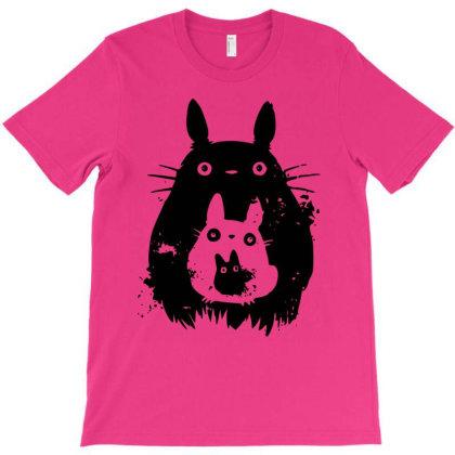 Totoro T-shirt Designed By Sergiokroberts