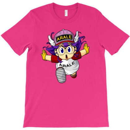 Arale T-shirt Designed By Bobbylrobbins