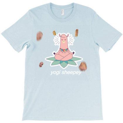 Llama Yoga Pose T-shirt Designed By Artefact33