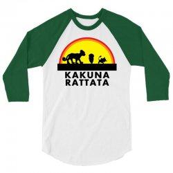 Kakuna Rattata 3/4 Sleeve Shirt   Artistshot