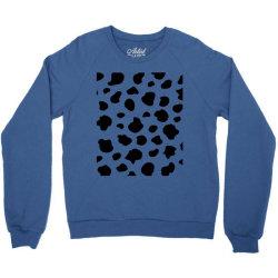 Abstract dalmatian pattern Crewneck Sweatshirt   Artistshot