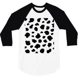 Abstract dalmatian pattern 3/4 Sleeve Shirt   Artistshot