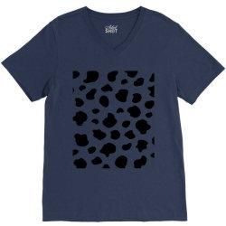 Abstract dalmatian pattern V-Neck Tee   Artistshot