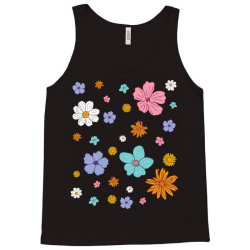 Abstract Floral Pattern Tank Top | Artistshot