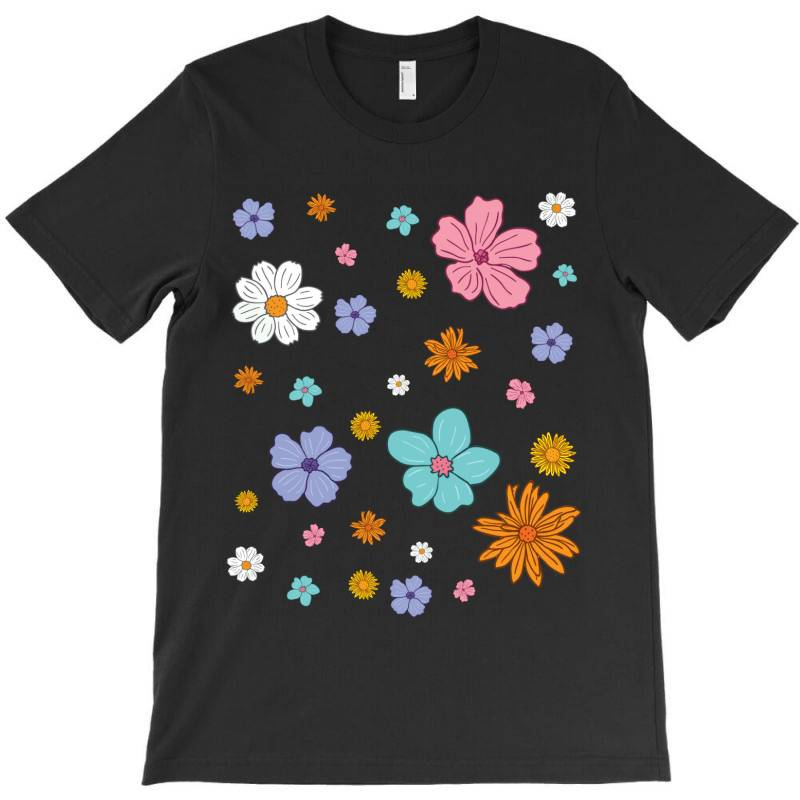 Abstract Floral Pattern T-shirt | Artistshot