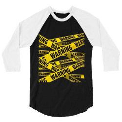 warning 3/4 Sleeve Shirt | Artistshot