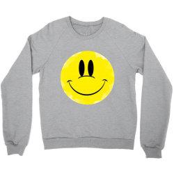 Smile Face Crewneck Sweatshirt   Artistshot