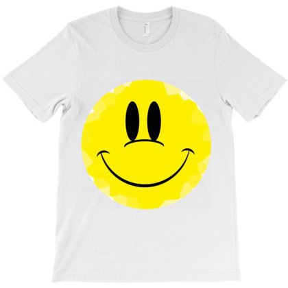 Smile Face T-shirt Designed By Hello Asa