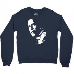 stencil barak obama t shirt funny Crewneck Sweatshirt   Artistshot