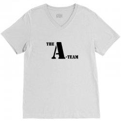 the a team stencil tshirt V-Neck Tee | Artistshot
