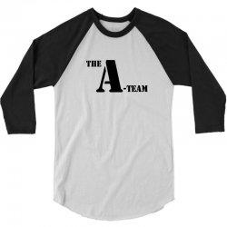 the a team stencil tshirt 3/4 Sleeve Shirt | Artistshot