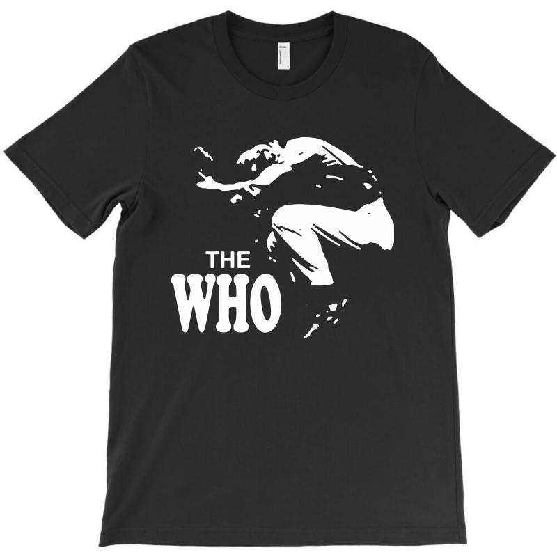 The Who Stencil T-shirt | Artistshot