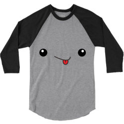 cute smile 3/4 Sleeve Shirt   Artistshot